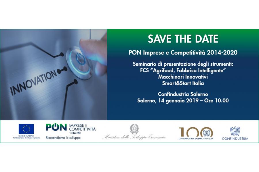 Seminario PON IC -  SALERNO 14 GENNAIO 2019